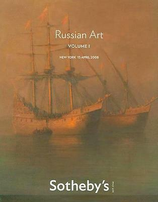 Sotheby's ///  Russian Art Volume I Burliuk Auction Catalog 2008