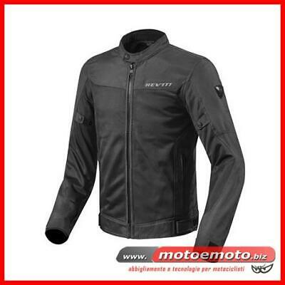 Giacca Moto Estiva Rev'it Eclipse Nero Traforata FJT223 Revit