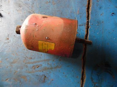1951 Farmall Super A tractor oil element cannister
