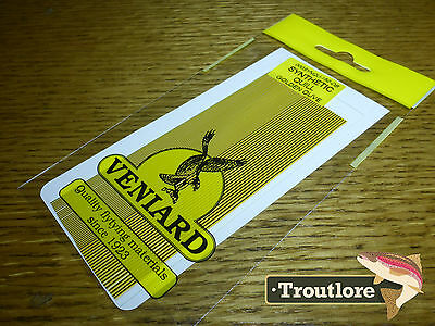 Veniard Golden Olive Synthetic Quills - New Fly Tying Quill Body Material