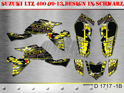 Motostyle Dekor Kit Atv Suzuki Ltz 400 Ab 09 Graphic Kit D1717 B