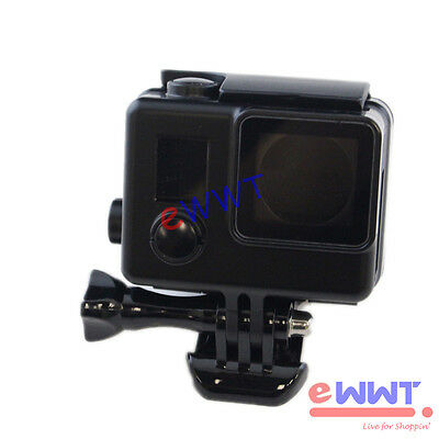 Black Protective Camera Housing Case Shell Side Open for GoPro Hero 3+ 3 ZMOS035