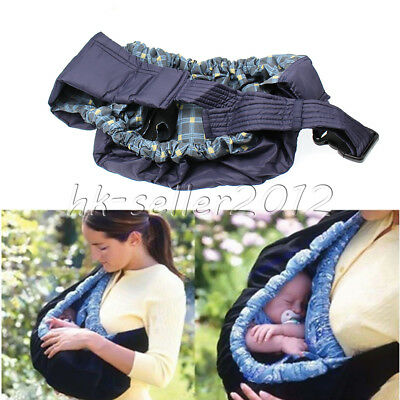 Infant Sling Newborn Baby Front Carrier Ring Wrap Adjustable Soft Pouch swaddle
