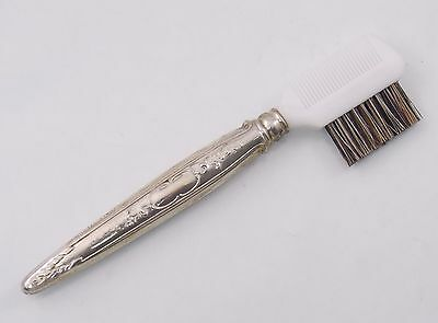 Vintage Towle Old Master Sterling Silver Eyebrow Eyelash Make Up Brush (#5665)