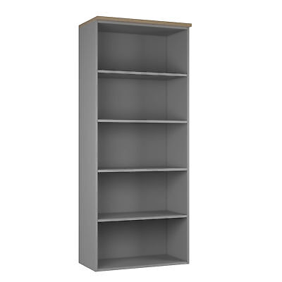 NOVA ECO High Quality Tall Bookcase, NATURAL OAK