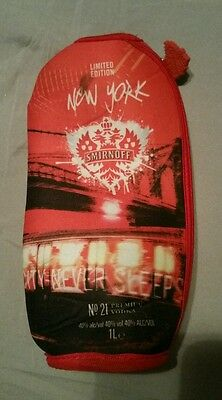 Smirnoff bottle coozie. LE New York