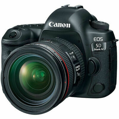 Canon EOS 5D Mark IV Digital SLR Camera with 24-70mm f/4L Lens