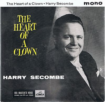 "Harry Secombe ""the Heart Of A Clown""  7"" Ep  Very Good Condition."