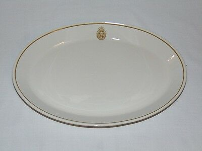 Vintage Syracuse China Restaurant Ware Royal Canadian Armed Froces Tray Platter