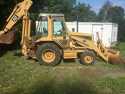 Caterpillar 416 Backhoe Series II