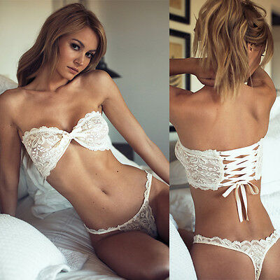 Women Lace Sexy-Lingerie Nightwear Underwear G-string Babydoll Sleepwear Bra Set