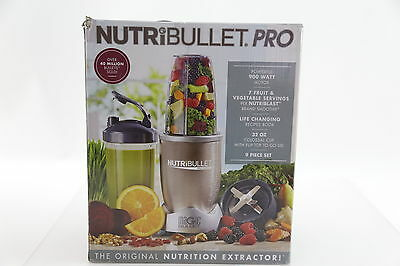NutriBullet Pro 900 Watts Extractor Blender 9 Piece Set BRAND NEW FREE SHIPPING