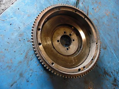 1951 Farmall Super A tractor flywheel