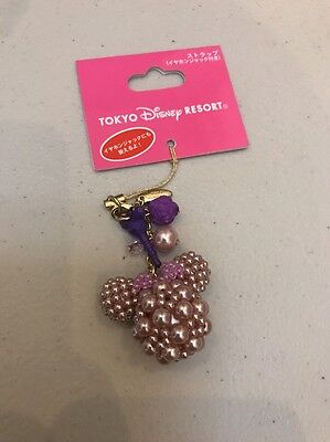 Tokyo Disneyland Resort Japan: Minnie Mouse Cell Phone Charm: Pink (DSJ-1)