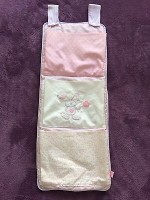 Baby Pink Nappy Stacker