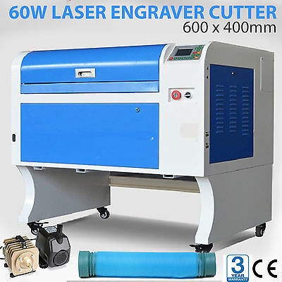 CO2 60W Laser Engraver Cutter FREE SHIPPING AU Stock