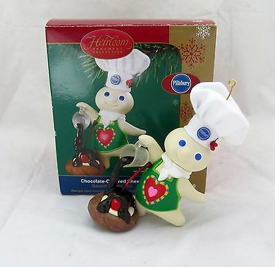 Chocolate-Covered Cheer Doughboy Dough Boy Kitchen Pillsbury Christmas Ornament