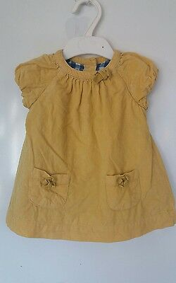 baby Boden baby girls yellow top 3-6 months good condition
