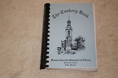 The Cookery Book Cookbook-Winston Churchill Memorial And Library, Fulton, Missou