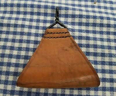 WW1 French Leather Equpment Triangle Strap M1892-1914