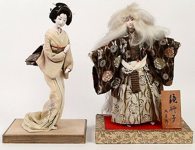 TWO JAPANESE DOLLS Lot 119