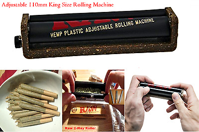 Joint Roller Machine Eco Fast Cigar Rolling Cigarette Weed Raw King Size 110mm