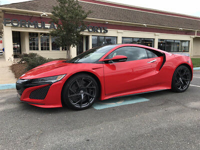 2017 Acura NSX Base Coupe 2-Door ACURA NSX*CURVA RED*SADDLE LEATHER*CARFAX 1-OWNER*$0 DOWN / $2999/ MONTH
