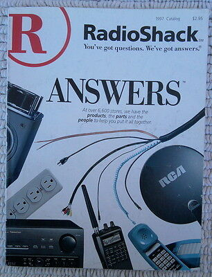 Radio Shack Catalog 1997