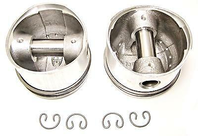 Norton Commando pistons 750 plus 20 .020 over piston set with rings 06-7056