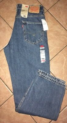 NWT New With Tags Men's Levis Relaxed Fit 550 Medium Stonewash Jeans 34X32