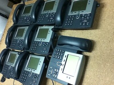 Used 8 Pcs Cisco Ip Phone 7941