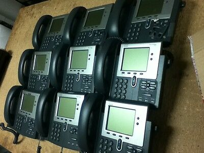 Used 9 Pcs Cisco Ip Phone 7942
