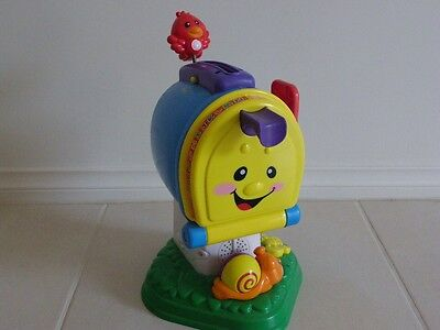 Fisher Price - Educational Musical Letterbox Mailbox (missing letter pieces)