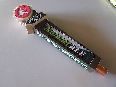 Long Trail Brewing Co. Summer Ale Unfiltered Beer Tap Handle Bar Knob Pull Keg