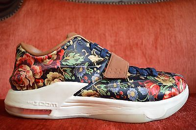finest selection be161 d1358 NIKE KD 7 VII Floral EXT Size 12 726438 400 Muti Color QS