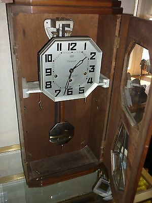 CARILLON ODO 8 MARTEAUX 8 TIGES N°36 ART DECO PENDULE HORLOGE ANCIEN support U