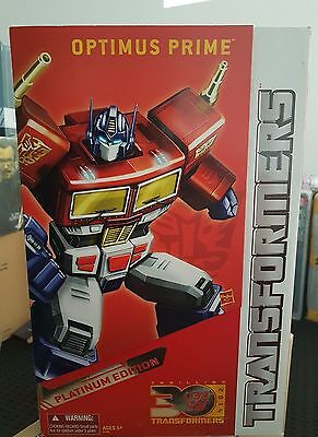 Transformers Optimus Prime Platinum Year Of The Horse Edition Misb