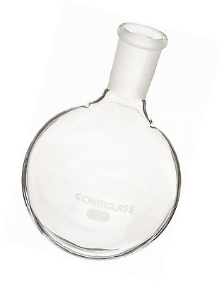 Chemglass CG-1506-23 Glass 1000mL Heavy Wall Single Neck Round Bottom Flask with 24//40 Standard Taper Outer Joint