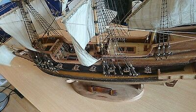 Model Schiff Holz Golden Hind