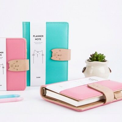 A6/A7 Loose Leaf Notebook Ruled Blank Diary Paper Planner Schedule Portable Cat