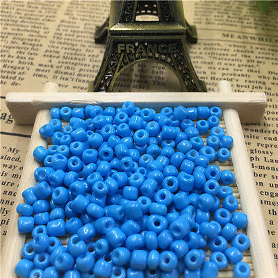 100pcs Jewelry Making Czech 4mm Round Lot Colorful Seed Beads 8#