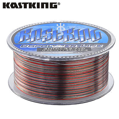 KastKing Monofilament Line Coating Monofilament Nylon Line 300m Camouflage