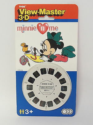 "View-Master 3-D - Tyco - 3 Scheiben 3077 - Disney Minnie Mouse ""minnie`n me"" NEU"