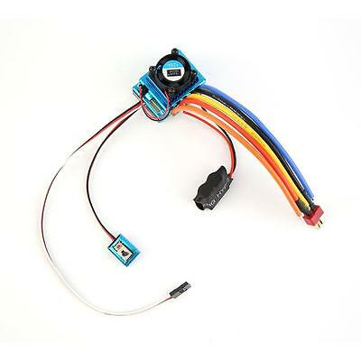 120A Sensored Brushless Speed Controller ESC for 1/8 1/10 1/12 Car Crawler YccU