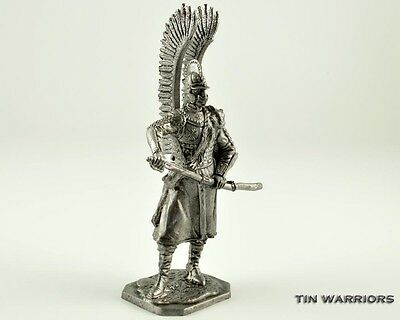 Polish Winged Hussars. Tin toy soldier. Collection 54mm miniature figurine