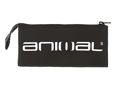 "Animal ""maddocks"" Boys Pencil Case With 3 Pockets. Black (He7Wl004-002)"
