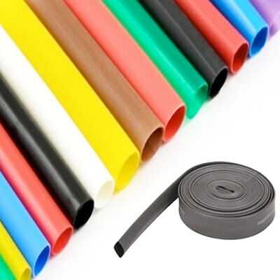 2:1 Heat Shrink Tubing Electrical Sleeving Cable/Wire Heatshrink Tube All Colour