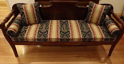 Antique Miners Couch / Day Bed / Sofa