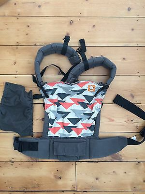 Tula  Baby Toddler Carrier Discontinued pattern 'Jacklyn' - excellent condition