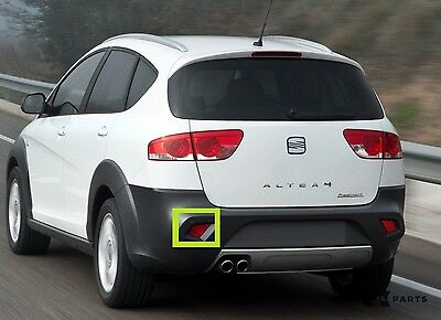 New Genuine Seat Altea Freetrack 07-16 Rear Bumper Left N/s Reflector 5P8945105A